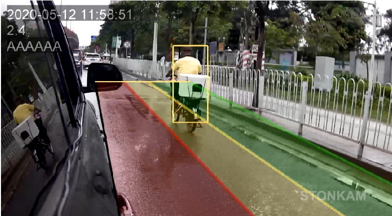 STONKAM? 1080P HD Intelligent Pedestrian Detection System